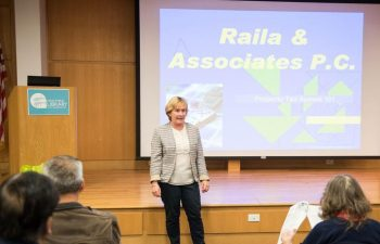 Paula Raila at Niles Public Library
